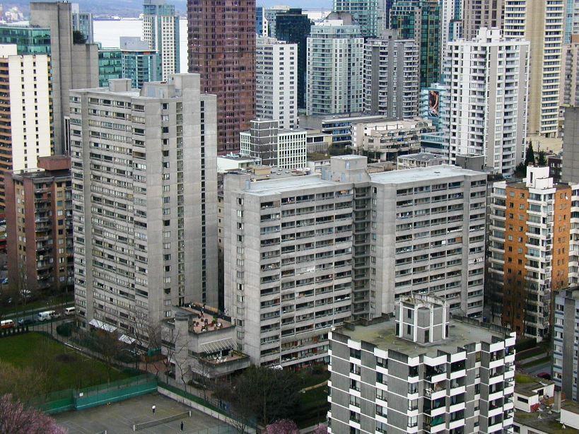 West End density