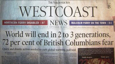 World will end