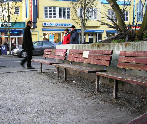 West End bench