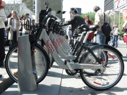 Bixi is a world-class shared bicycle system and something Id love to see in Austin