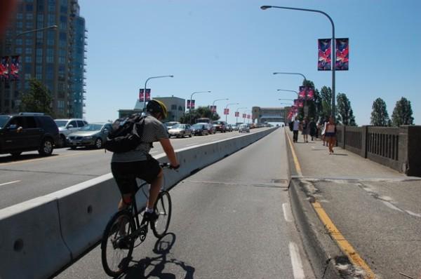 Burrard bike lane 1