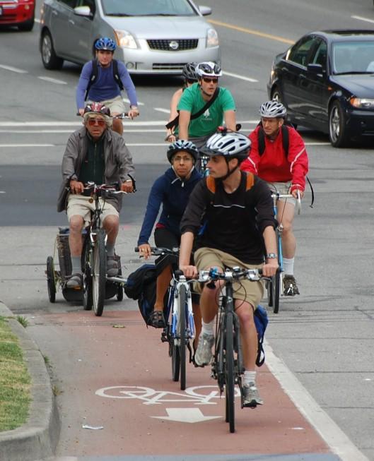 Burrard cyclists 4