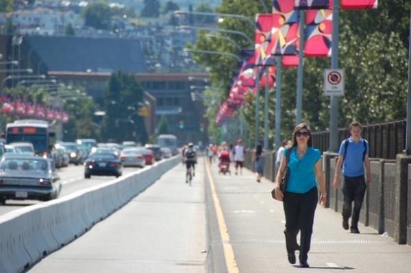 Burrard pedestrian