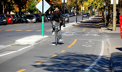 Montreal cycle track