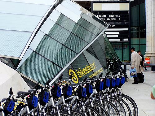 Bike station 1