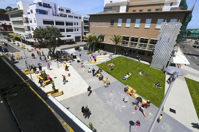 Shared spaces in new zealand price tags for Shared space design