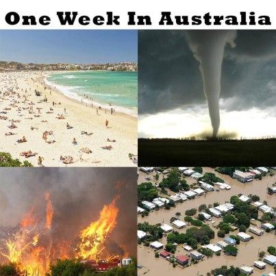 1 week in Australia