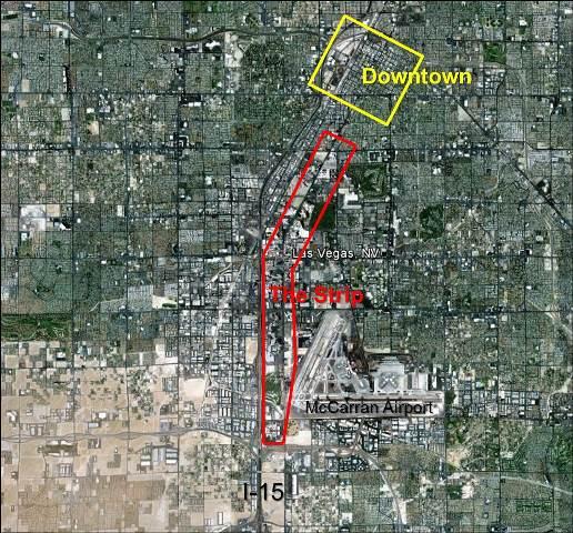 Vegas aerial
