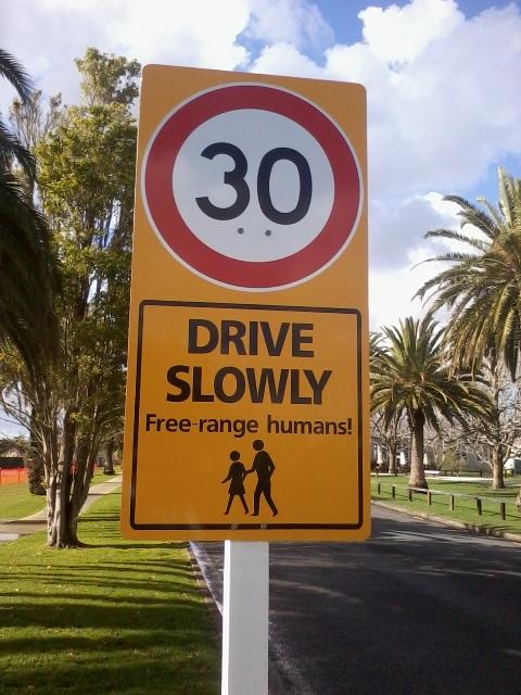 Hobsonville Street Sign
