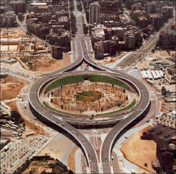 Glories roundabout