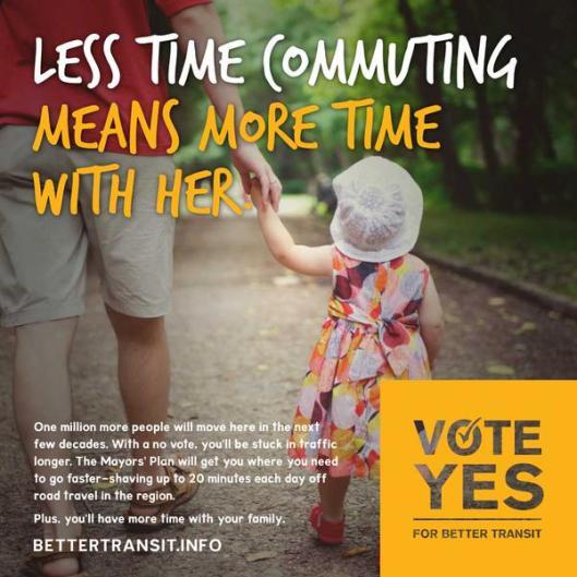 Less commuting