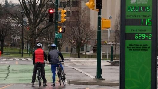Ohrn bike counter Feb 1