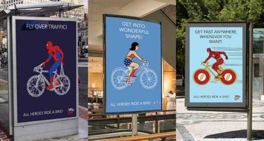 Bike in pop