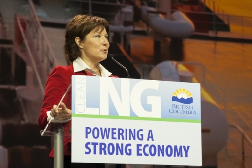 Christy Clark LNG Summit Mychaylo Prsytupa web_0