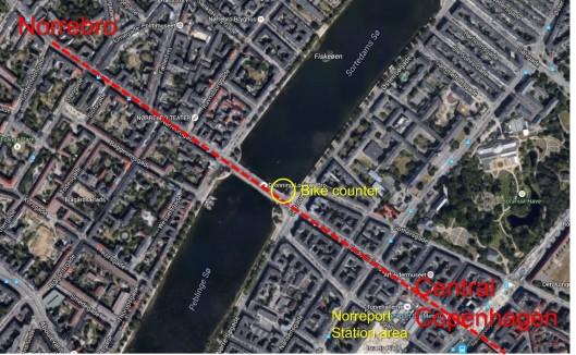 Norrebro Map