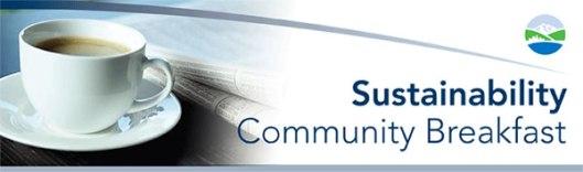 Sustainability Breakfast Banner