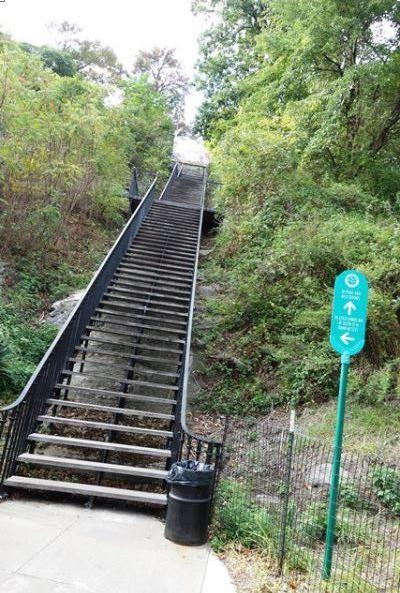 High Bridge stairs
