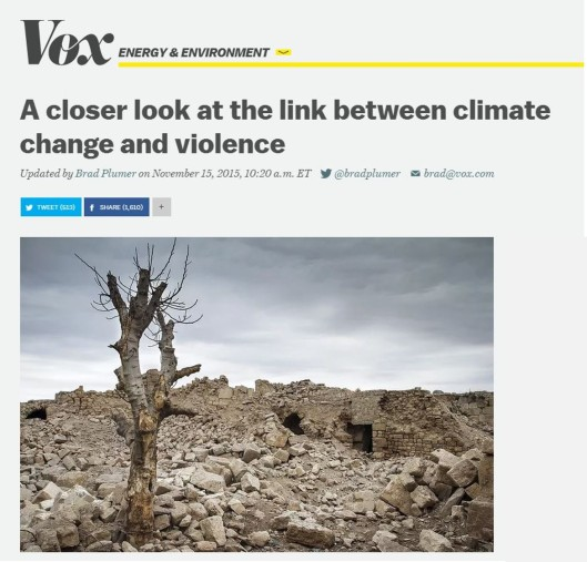 Climate vox
