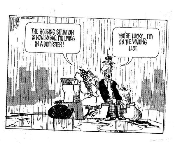 Housing.Cartoon