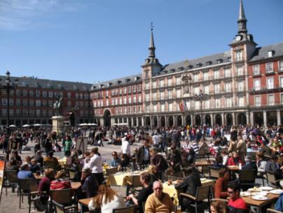 Plaza Mayor - Madrid Spain