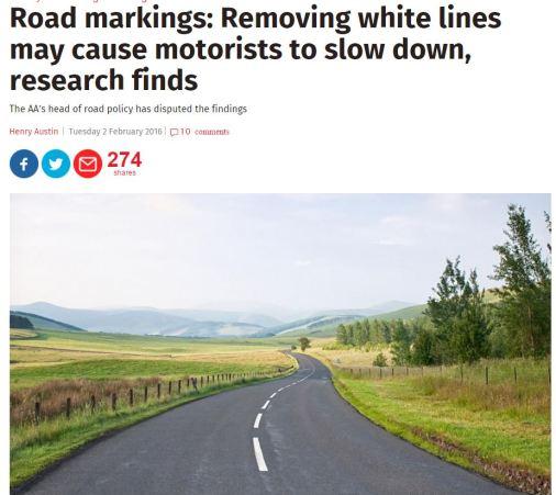 Road markingd