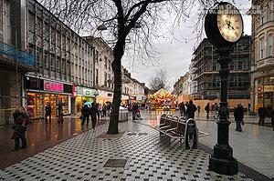 Gastown Cardiff clock