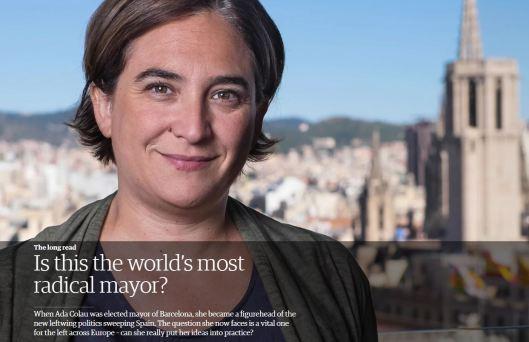 Barcelona mayor