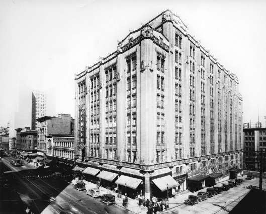 David Spencers Department store building on hastings c1930s