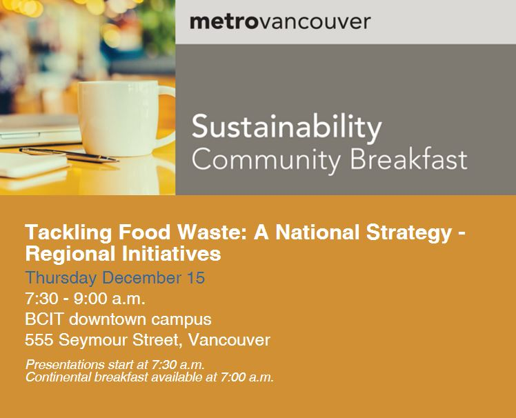 National Food Waste Reduction Strategy Canada