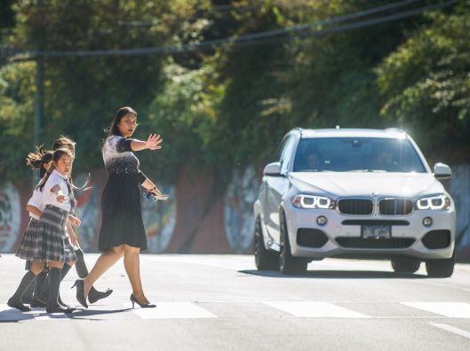 Kids fight for traffic safety